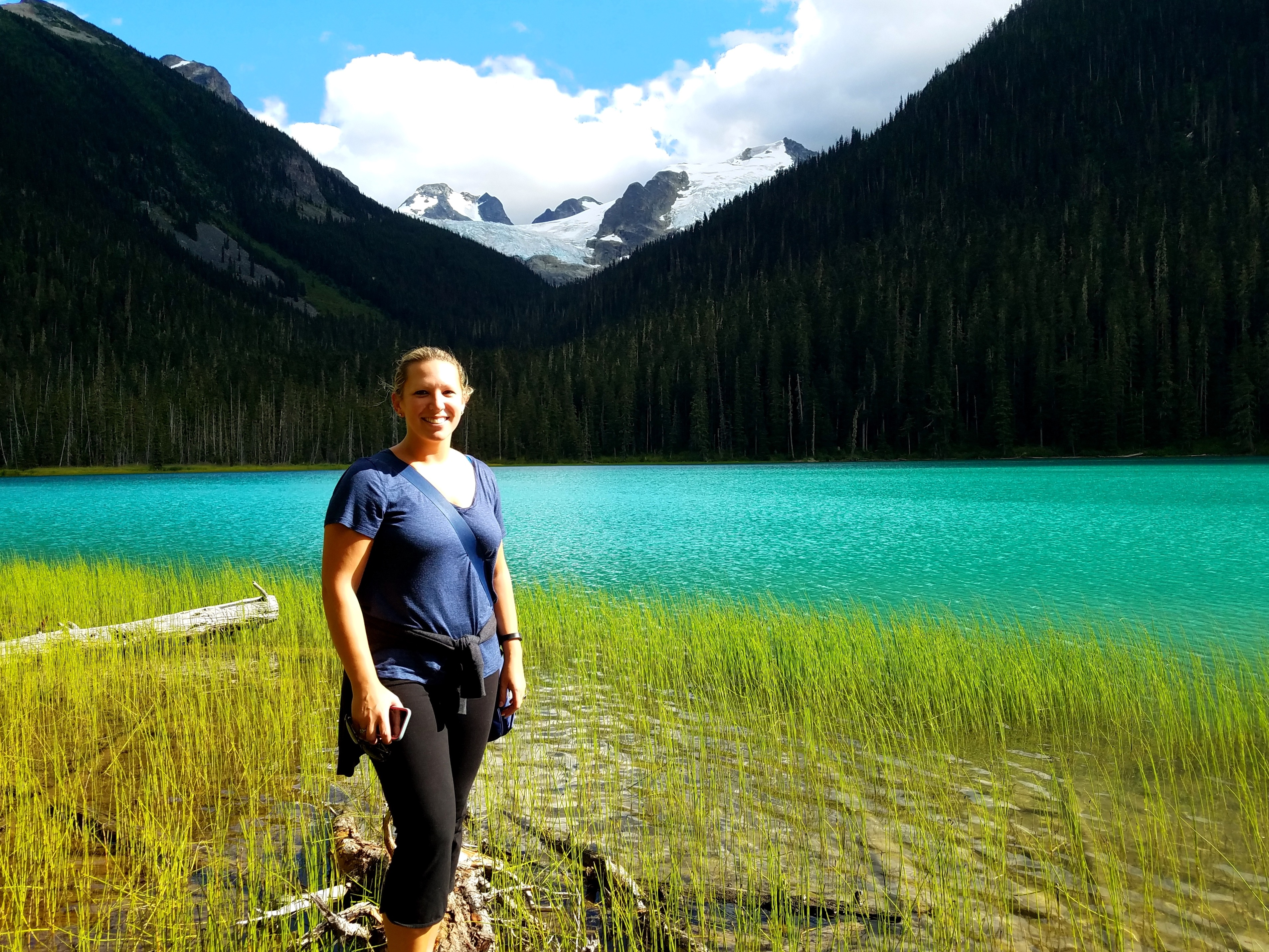 Pictures can't do justice to Joffre Lakes' unreal colors...this is a can't-miss part of any Sea-to-Sky Highway route
