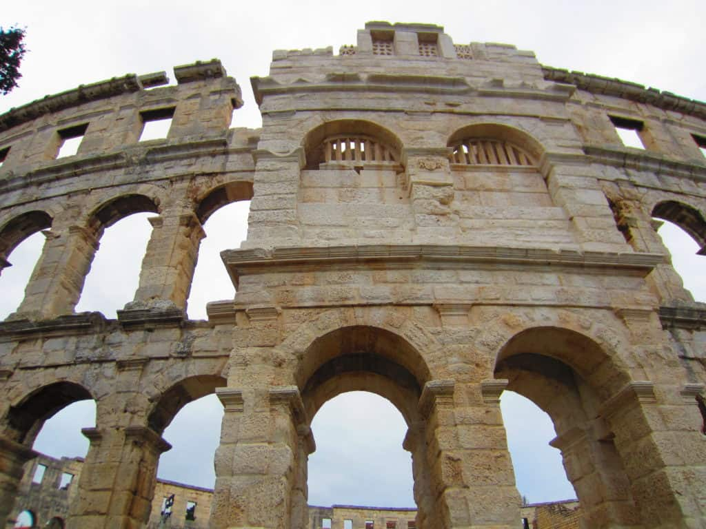 Pula's amphitheatre...where to go and what to skip in Istria