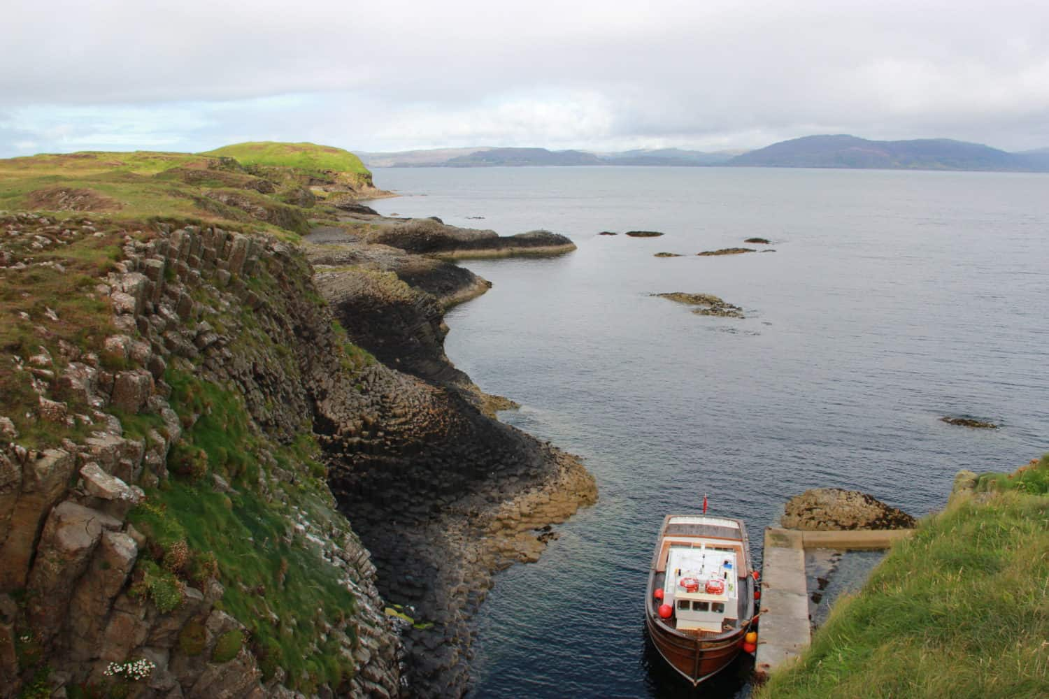 A half-day boat trip to the Isle of Staffa, off Scotland's west coast, is a must-do on any Scottish itinerary