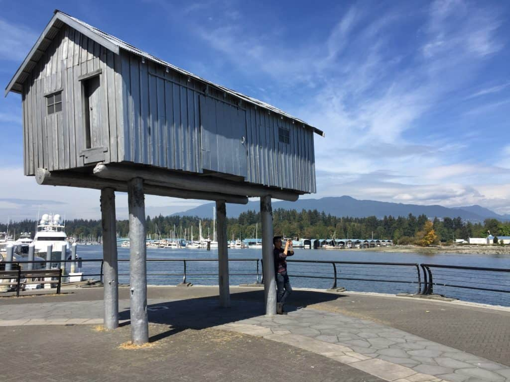 Walking the Seawall in Vancouver...even a 2-day trip has to make time for this area!