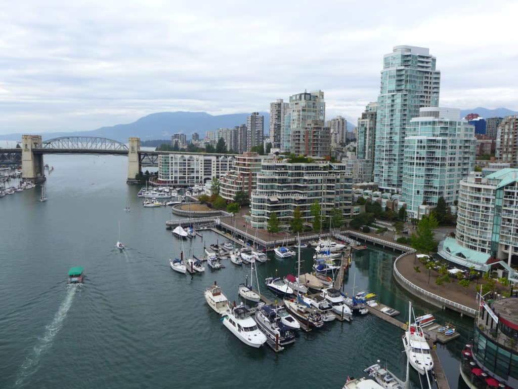 Beautiful downtown Vancouver!