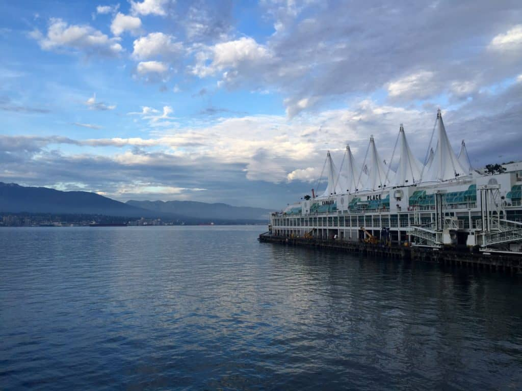 Take in sunset from the Seawall. A weekend in Vancouver.