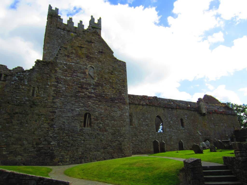 Jerpoint Abbey is an easy half hour drive from Kilkenny