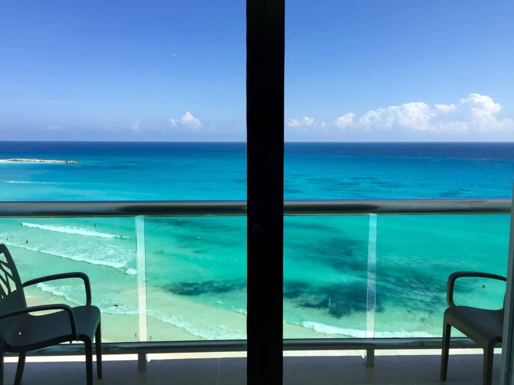 Renting an Airbnb (vs. doing a big resort) is a great way to see the more chill side of Cancun
