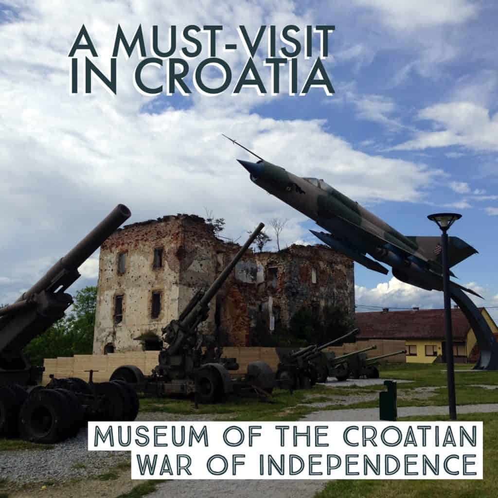 If you're visiting Plitvice, make sure you stop at the Museum of the Croatian War of Independence and learn about this recent conflict