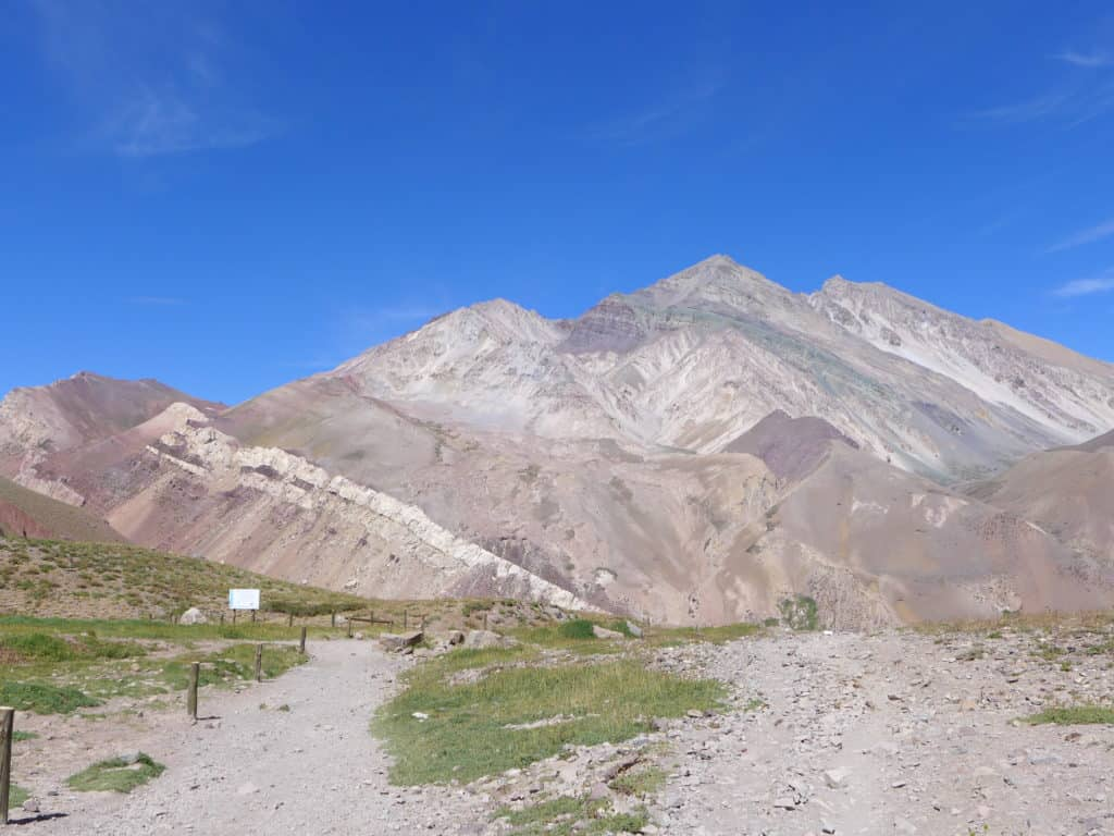 "The mountain we dubbed ""Cerro Amazeballs"". How to visit the Andes near Mendoza, a must if you're in the area. #argentina"