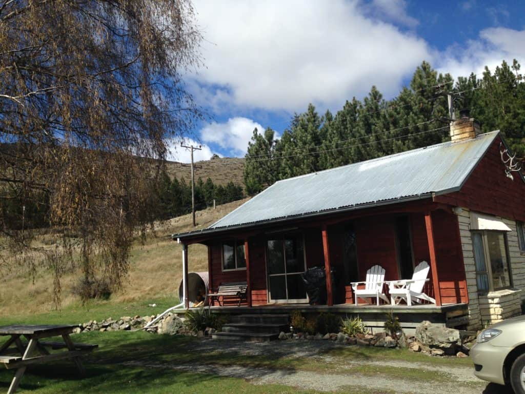 Our adorable cabin in Lake Tekapo, NZ...visiting this area is a must when in New Zealand's South Island