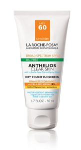 La Roche-Posay face sunscreen...matte, high SPF, and absolutely no greasiness or pore clogging. Favorite face sunscreen for travel hands-down.