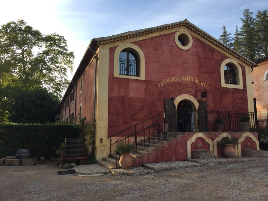 Chateau de Saint-Martin, in Provence...one of the wineries we visited | a French Riviera itinerary isn't complete without tasting wines in Provence! Tips from the wine tour we took, which wineries we visited in Aix-en-Provence
