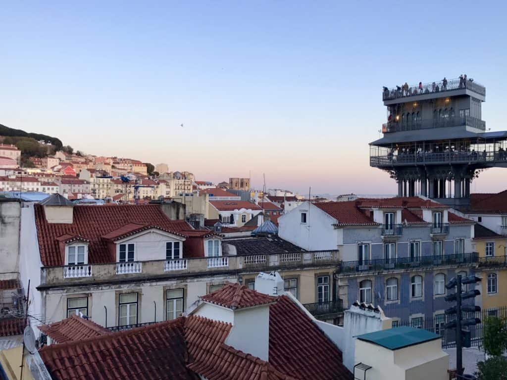 Lisbon at sunset...the best secret rooftop bar that isn't on any other list you'll find. A must for any Portugal itinerary!
