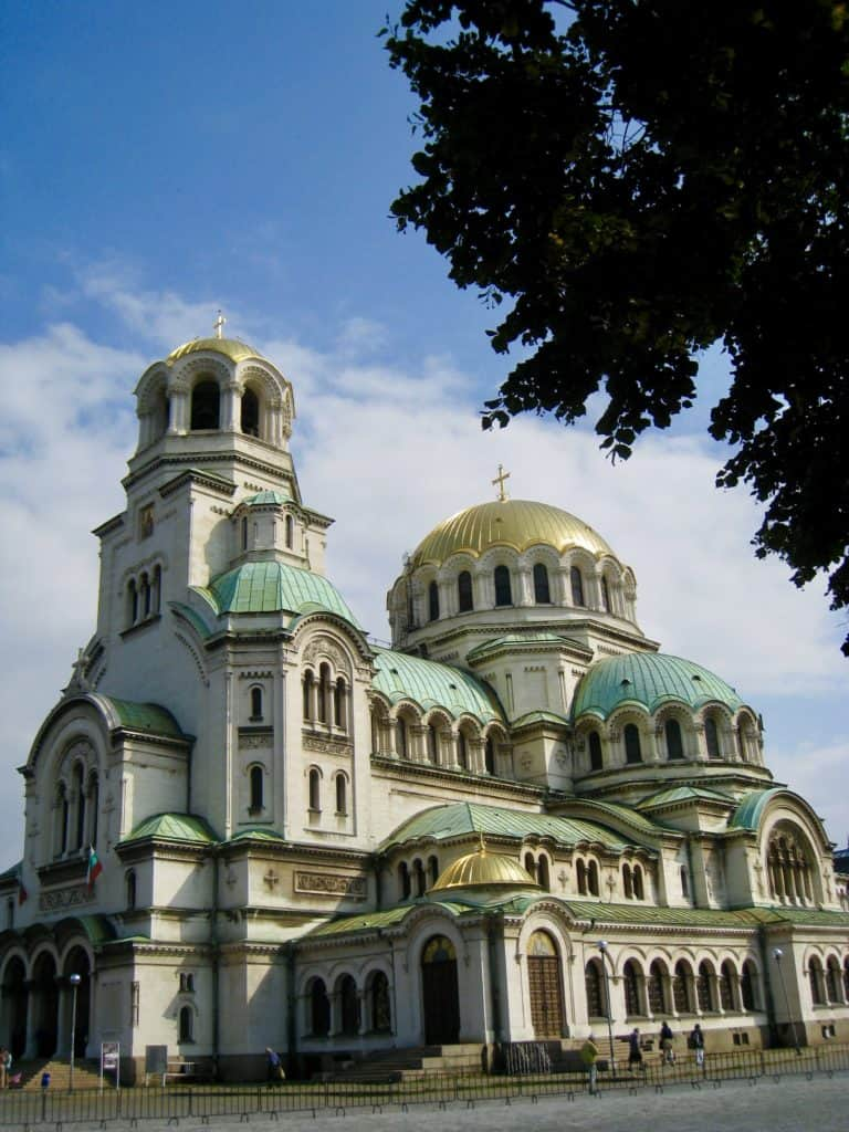 Famous Alexander Nevsky Cathedral, must see in Sofia | what to see in Sofia, Bulgaria | tips for visiting Sofia Bulgaria | Sofia trip itinerary, Bulgaria travel tips, Russian church & Alexander Nevsky