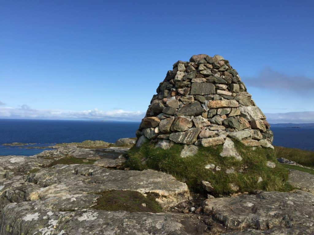 Climb Dun I for a 360-degree view of the island | How to visit the Isle of Iona | Scotland's tiny Isle of Iona is stunning, peaceful, & a must-visit | Ferry from Mull, how to plan your visit from the mainland, where to stay on Iona, and what to do #scotland