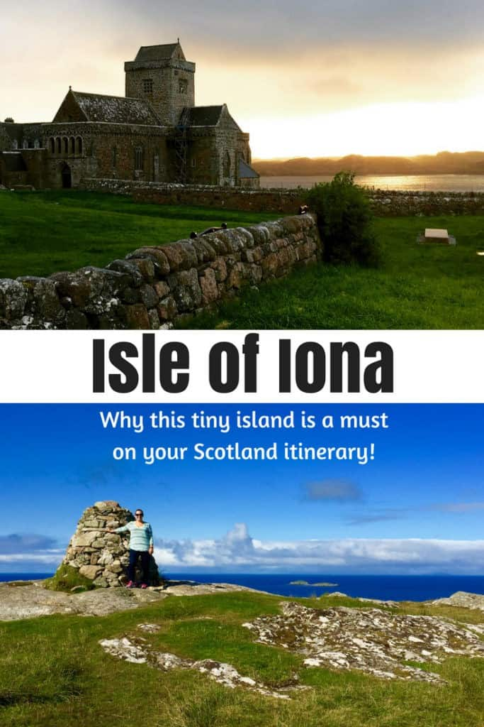 How to visit the Isle of Iona | Scotland's tiny Isle of Iona is stunning, peaceful, & a must-visit | Ferry from Mull, how to plan your visit from the mainland, where to stay on Iona, and what to do #scotland #iona #travel