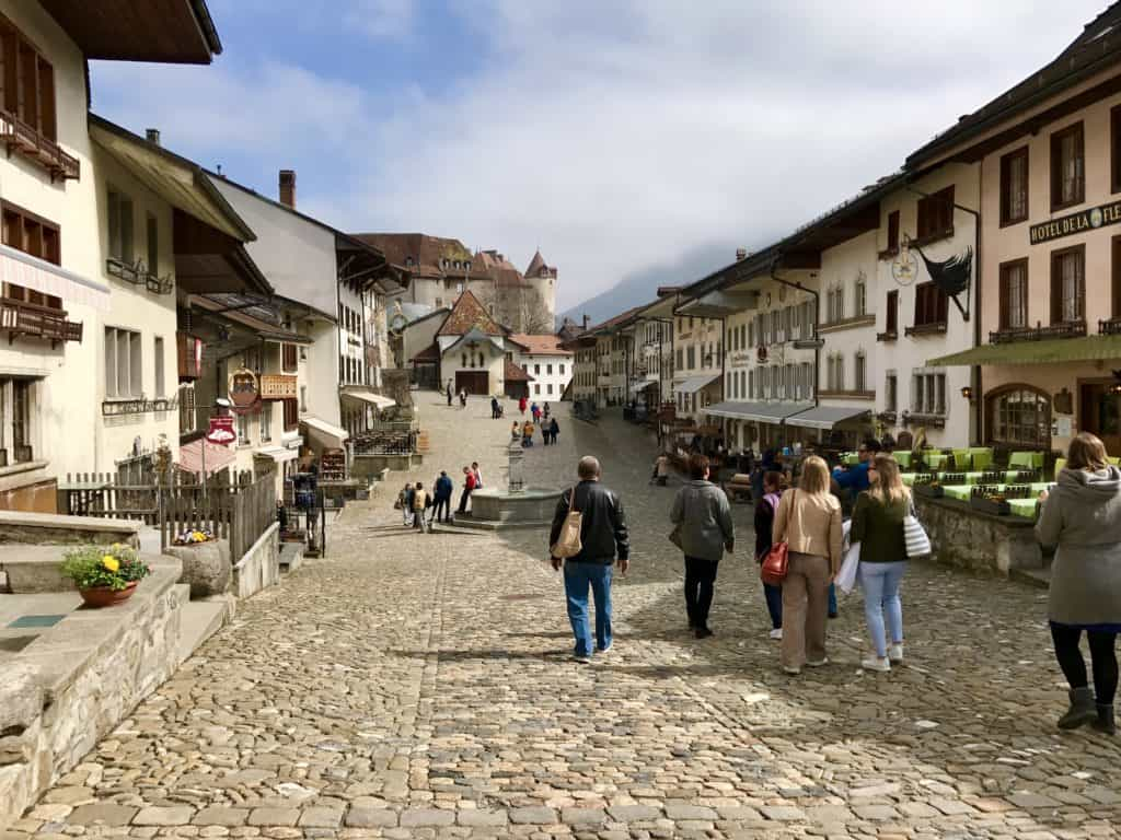 Gruyeres is more than cheese--but it is part of the appeal! What to do in Switzerland's most beautiful town, how to plan your visit