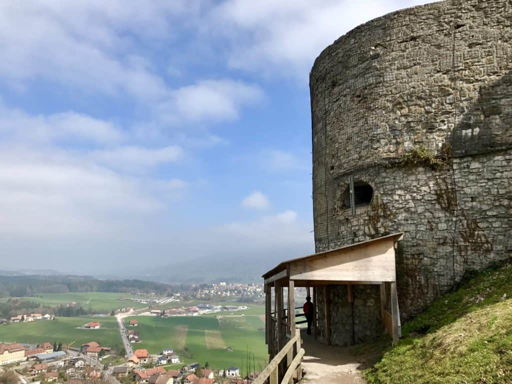 Gruyeres has stunning views, a medieval town, and amazing fondue...how to plan your trip to Gruyeres, an easy day trip from Geneva