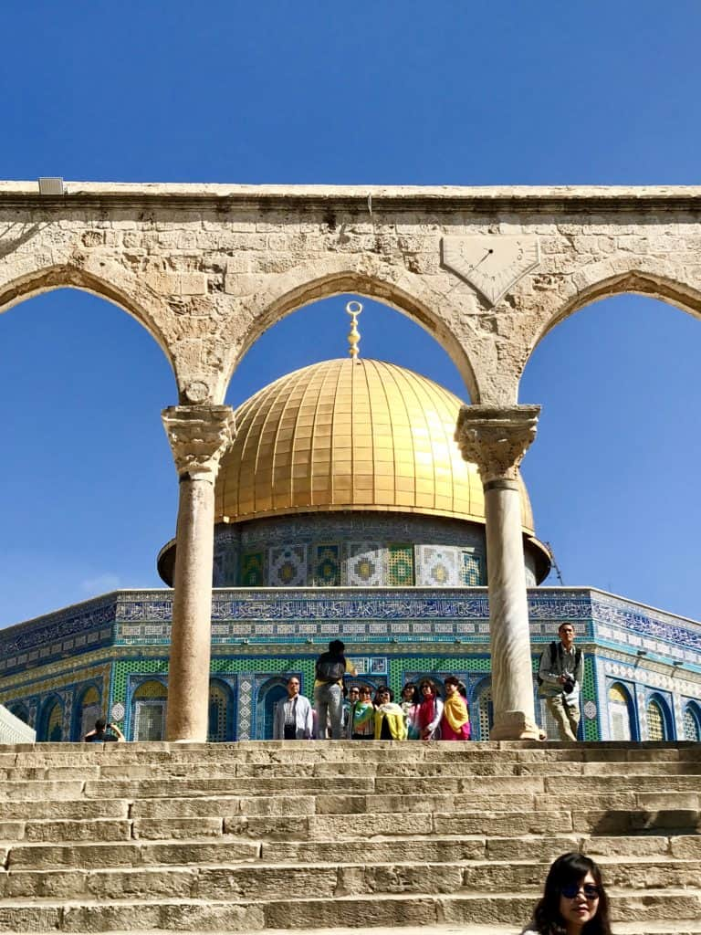 How to visit the Temple Mount, Dome of the Rock, & Western Wall in Jerusalem | Tips for what to wear, when to go, what to bring, & how not to get in trouble | Jerusalem trip planning & itinerary ideas, what to do in Israel, and tips for visiting Jerusalem's Old City #templemount #jerusalem #israel