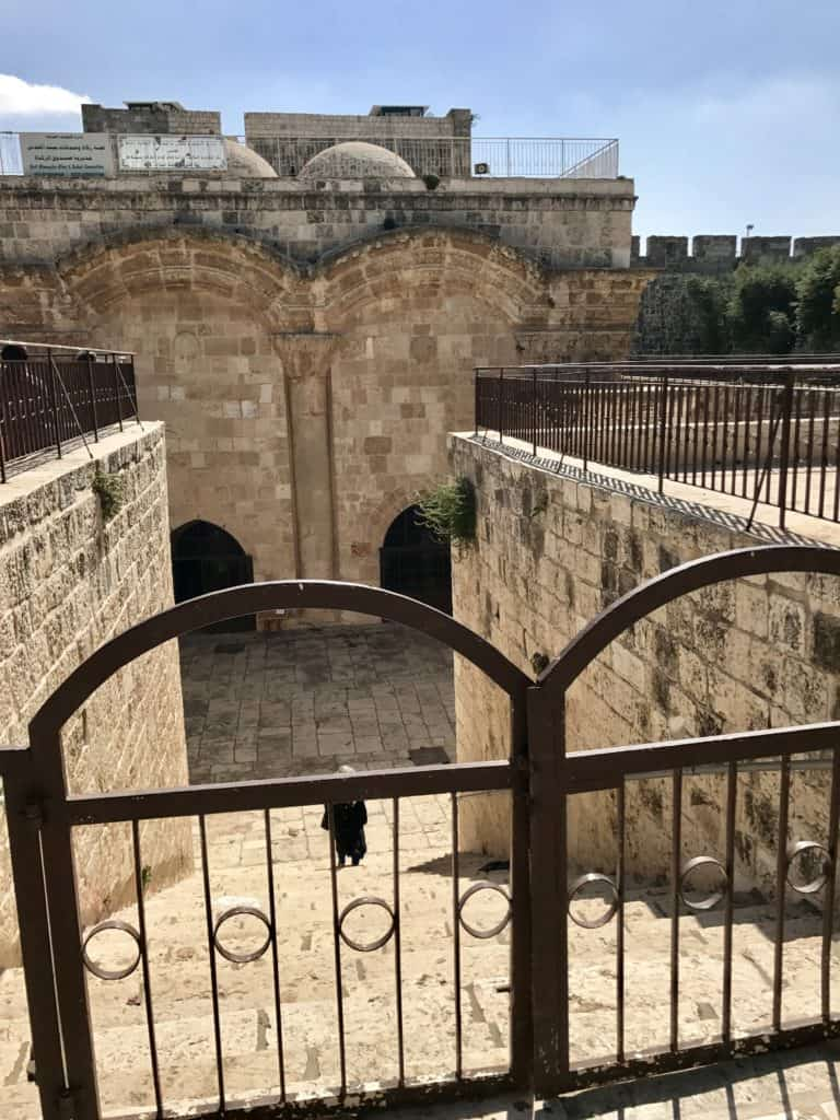 The Golden Gate has a cool historical backstory | How to visit the Temple Mount, Dome of the Rock, & Western Wall in Jerusalem | Jerusalem trip planning & itinerary ideas, what to do in Israel, and tips for visiting Jerusalem's Old City #templemount #jerusalem #israel