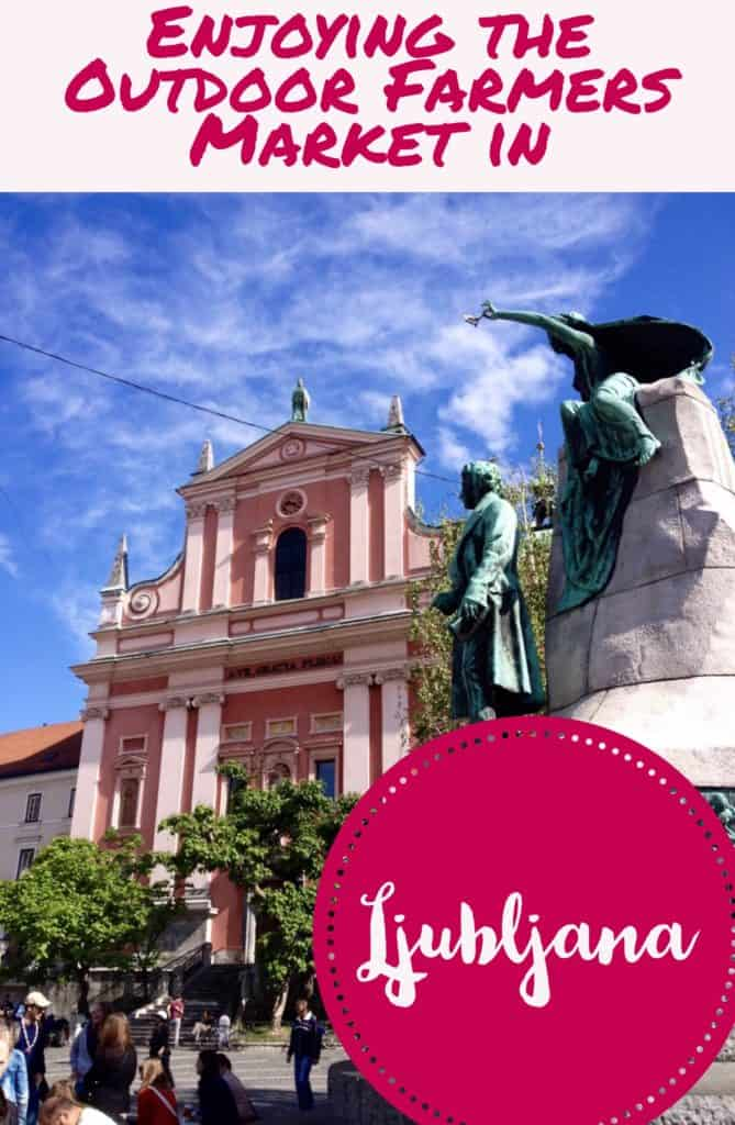 Ljubljana, Slovenia...this gorgeous, vibrant city is worth exploring, and the Central Market is the perfect way--one of the biggest farmers markets I've ever seen. What to do in Ljubljana, tips for your trip to Slovenia!