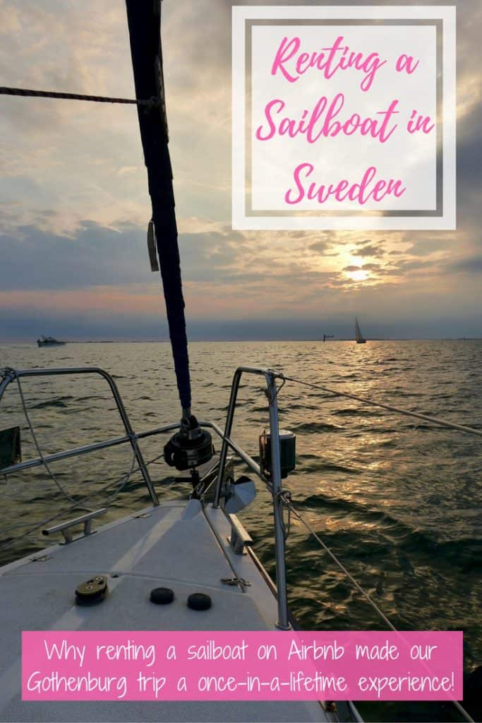 One of the most unique experiences I've had was renting a sailboat on Airbnb (with captain!) & sailing around the Gothenburg archipelago in Sweden for a weekend. All about our trip, how we found the boat, and why you should consider sailing in Sweden | Sweden itinerary planning, how to plan your trip to Gothenburg