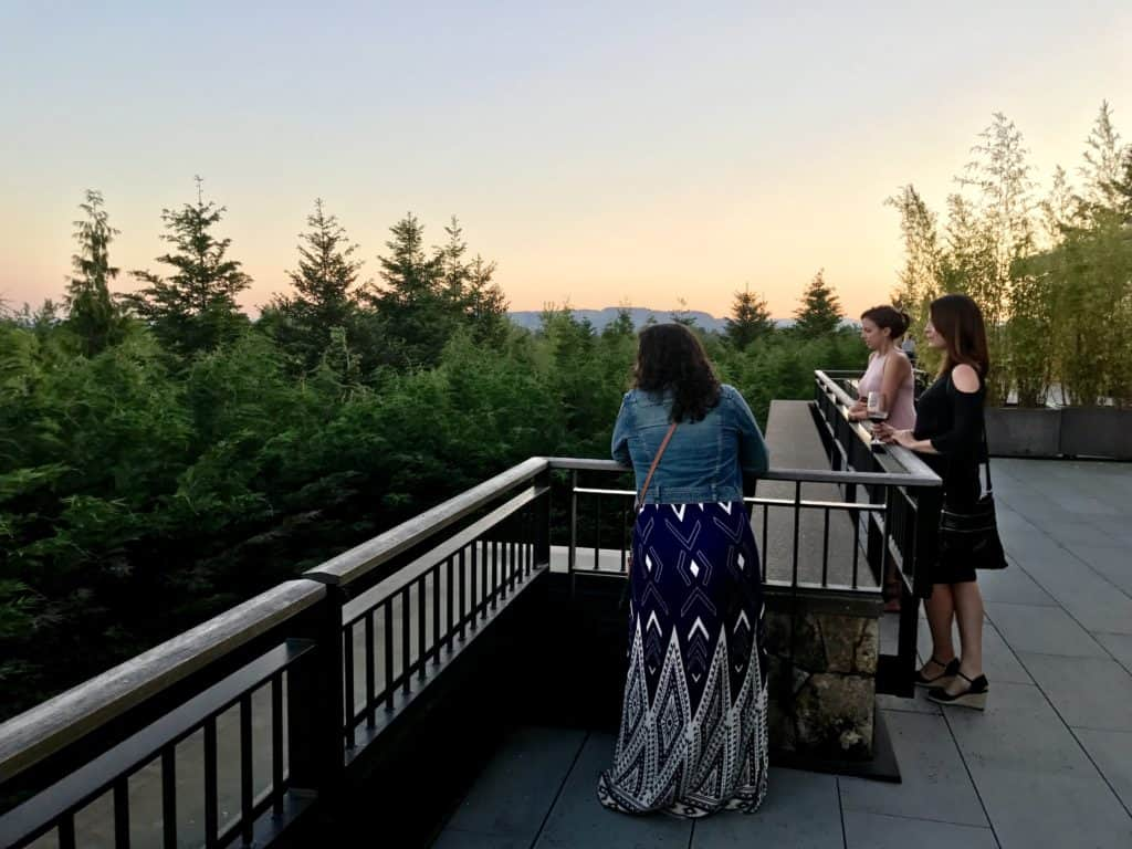 Beautiful dinner at Jory | What to do in Willamette Valley | which wineries to visit, where to eat, how to plan your trip | Everything you need to know for a visit to the Willamette Valley, Portland itinerary, wine weekend in Oregon, the perfect girls' trip #willamette #wineries #oregon
