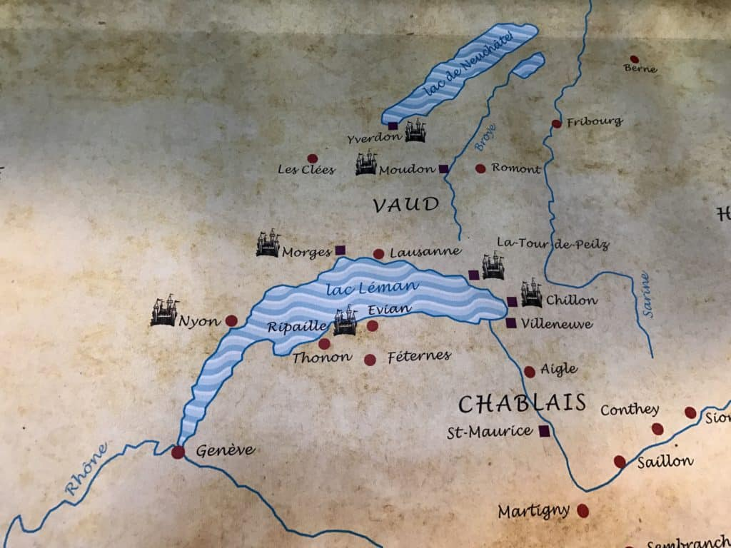 Map Of Yvoire France.Chateau Chillon Yvoire A Day Trip From Geneva One Girl Whole World