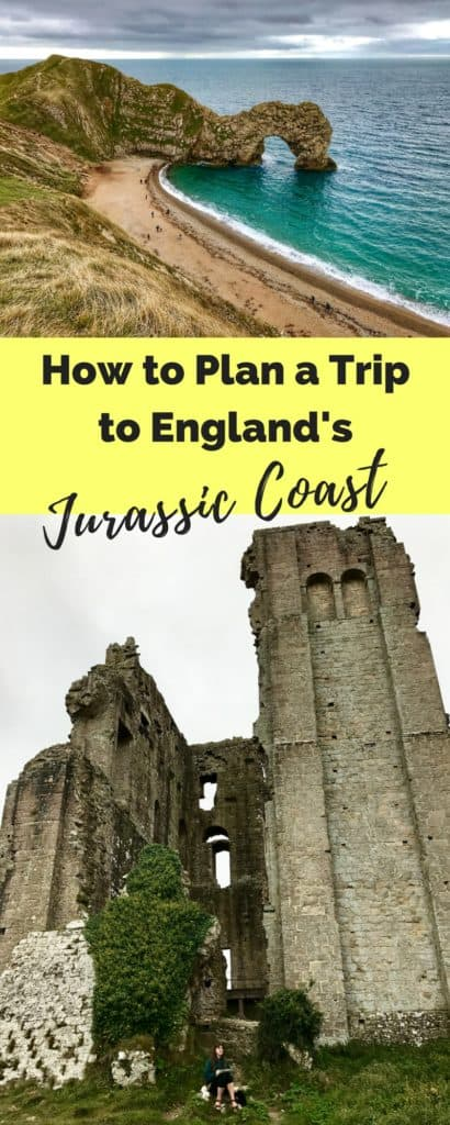 How to visit the Jurassic Coast, including the Durdle Door, Corfe Castle, Lyme Regis, & a stop at Exeter Cathedral | how to visit the Durdle Door, where to go on the Jurassic Coast in England, England's Jurassic Coast | what to do in England, UK road trip ideas, natural beauty in England, road trip in England #jurassiccoast #england #uk #durdledoor