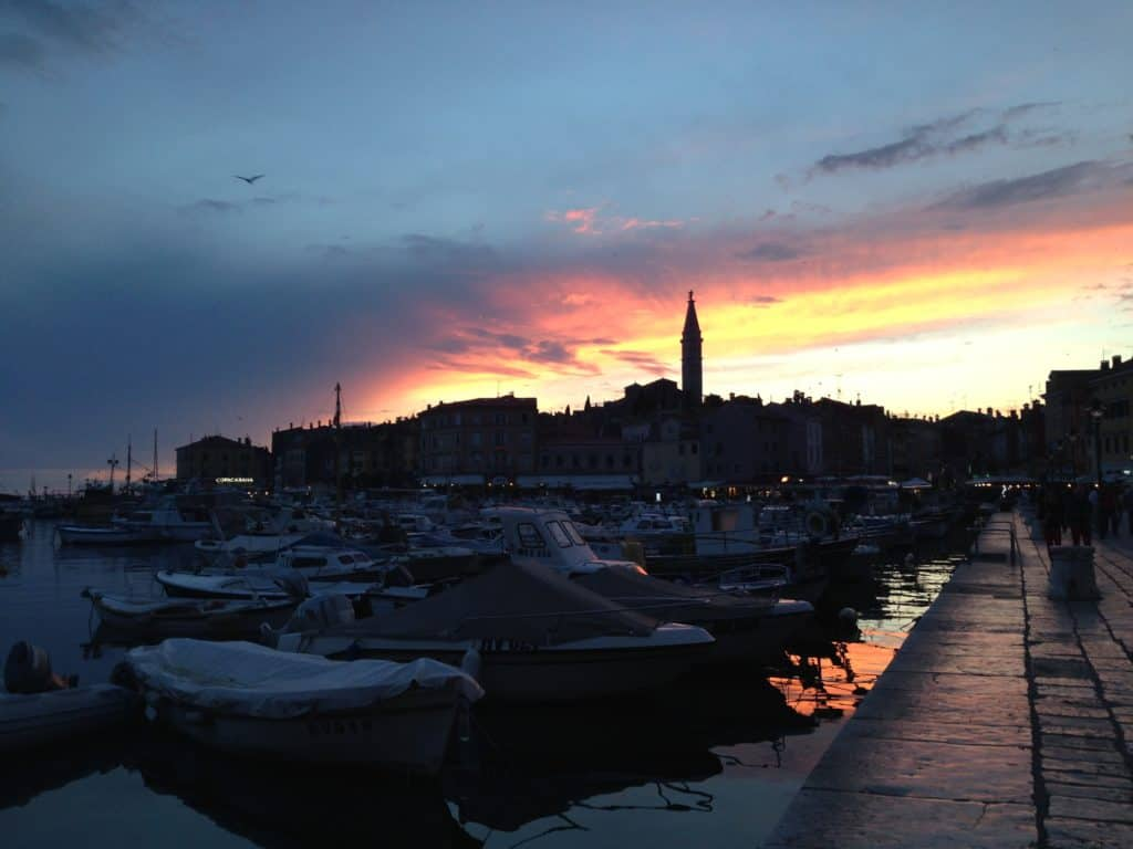 Beautiful Rovinj, on the Istrian Peninsula of Croatia