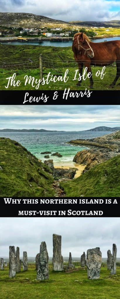 A visit to Scotland's mystical Isle of Lewis and Harris | this gorgeous island is full of history, amazing scenery, culture, great food, wildlife, and more. Make sure a trip to the Isle of Harris & Lewis is on your Scotland itinerary, how to plan your trip to the Isle of Harris & Lewis, Callanish standing stones, Luskentyre Beach, & more! #scotland #islelewisharris #highlandsandislands #scottishisles