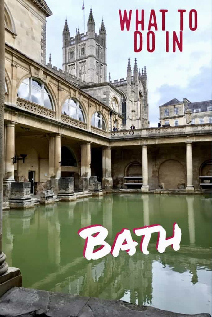 What to do in Bath, especially with a short time | Bath, England, is such a compact little city and there's a ton of fun history, architecture, and literary references | things to do in Bath UK #bath #england