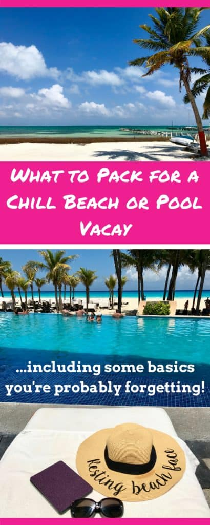 A packing list for any beach, pool, tropical, or resort vacation | ultimate beach packing list, from what to wear, what to pack it in, & how to stay comfy | best swimsuits for the beach, best beach bag, what to pack for a cruise, what to pack for the beach #packinglist #beach #vacation