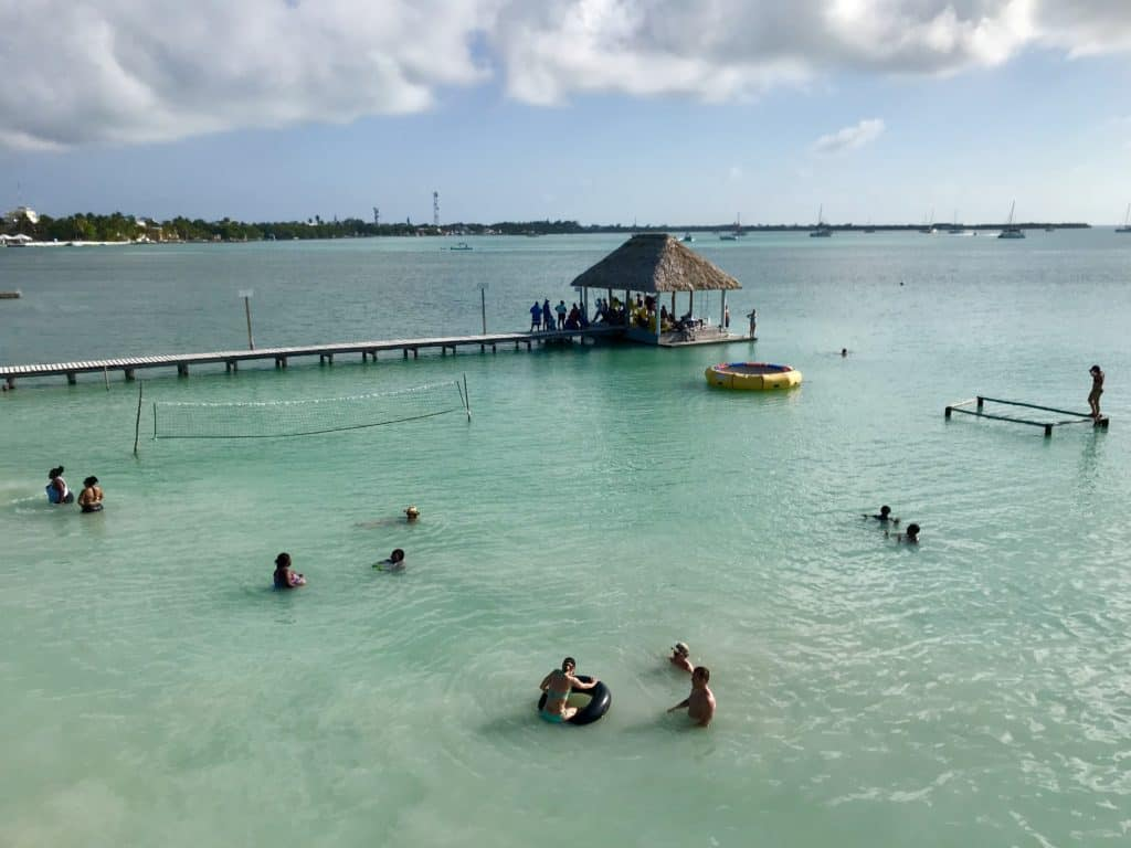 Chill tips for Caye Caulker, Belize | head over to Koko King for some beach time & a rooftop terrace