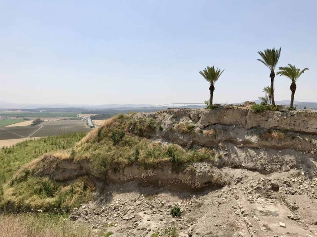 Tel Megiddo | A day trip from Tel Aviv to northern Israel, covering Caesarea, Tel-Megiddo, the Sea of Galilee, Capernaum, the Mount of Beatitudes, Tiberias, and Akko