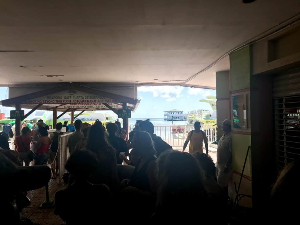 How to get to Caye Caulker from Belize City, how to catch the water taxi