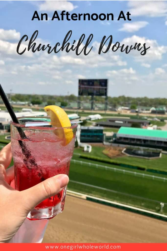 CHURCHILL DOWNS, LOUISVILLE | Visiting Churchill Downs is a must in Louisville, one of the all-American sports experiences to have. Visiting Churchill Downs for Derby, horses, bourbon, & more! Things to do in Louisville, on the Bourbon Trail. #churchilldowns #louisville #kentucky