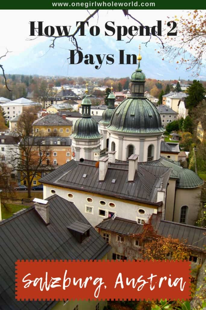 What to do in Salzburg, Austria | How to spend a day or two in Salzburg, things to do in Salzburg, Sound of Music tours, Austria itinerary ideas, and more! #salzburg #austria #soundofmusic