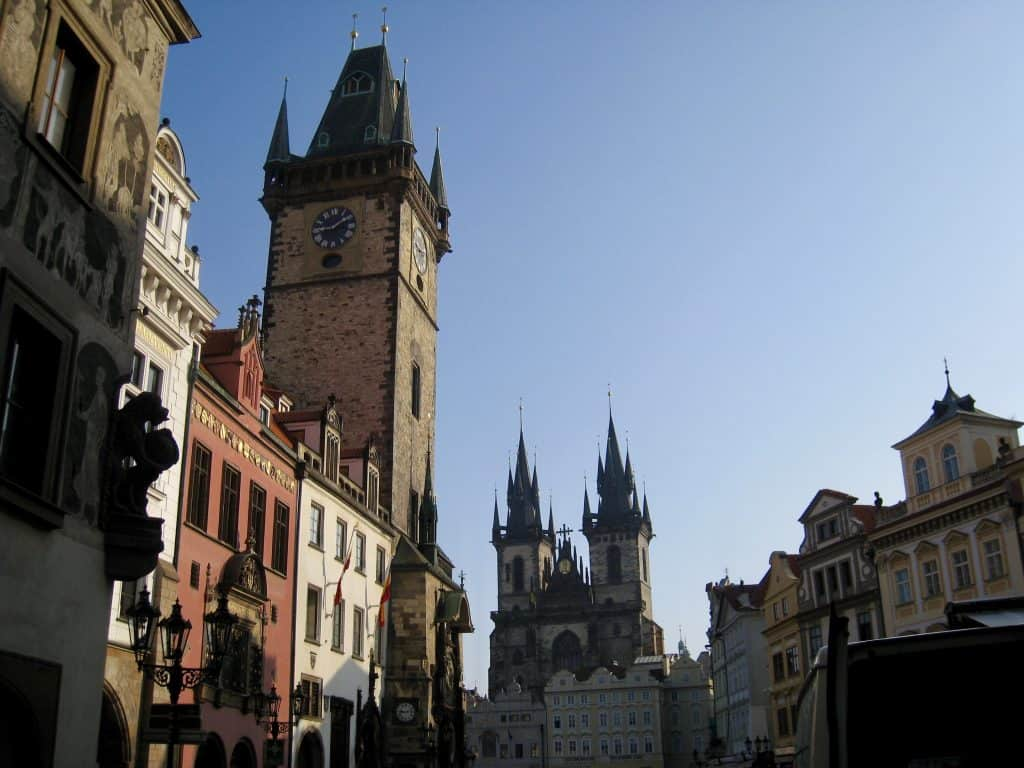 A visit to the Old Town Square is a must in Prague, even with only 24 hours