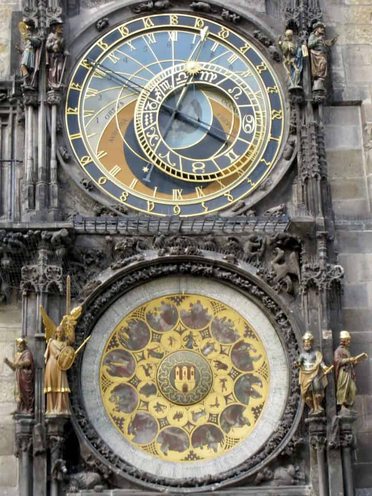 Prague's famous astronomical clock | what to do in Prague