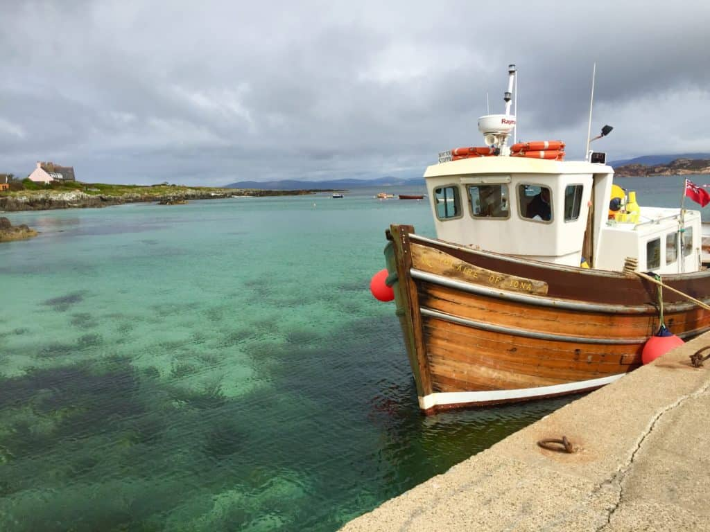Taking a boat over to the Isle of Staffa - what to do with 10 days in Scotland