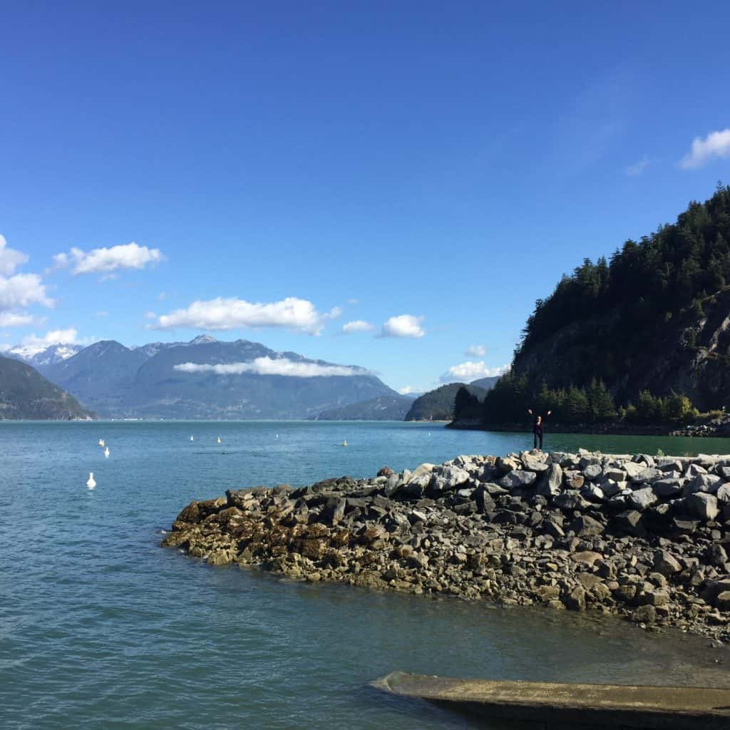 what to see on the Sea-to-Sky Highway route