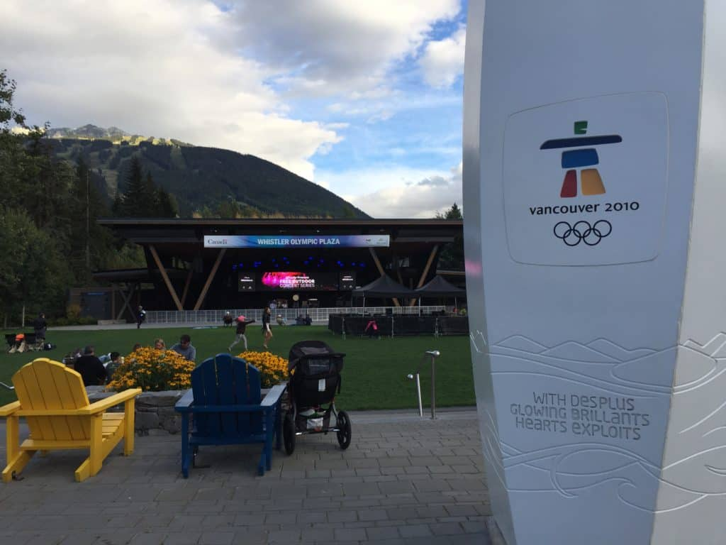 Whistler Olympic Village...a long weekend in Vancouver