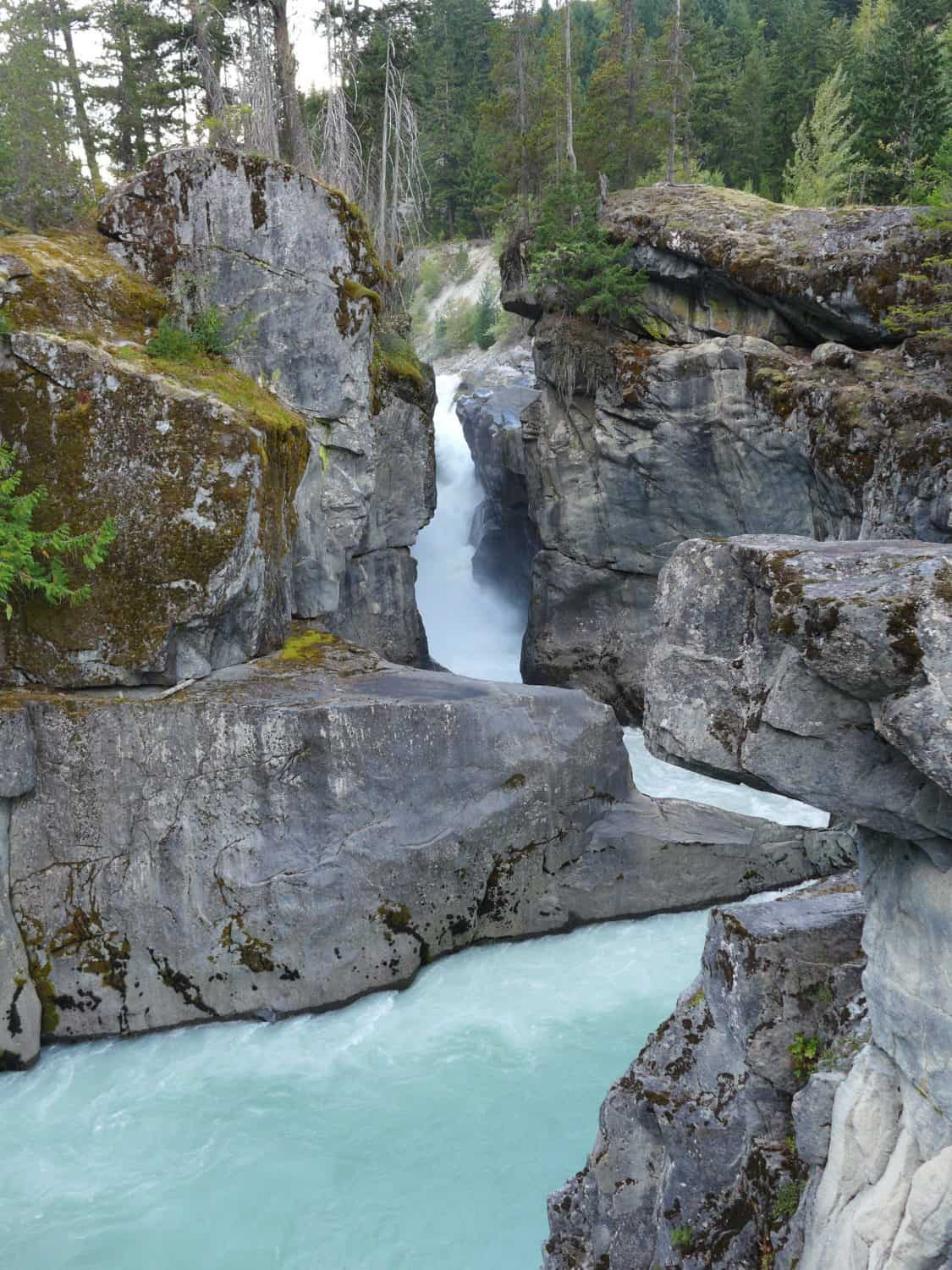 Nairn Falls, between Whistler and Joffre Lakes...driving the Sea-to-Sky Highway Route