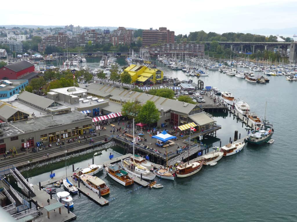 Granville Island Public Market, part of my awesome 48-hour Vancouver itinerary