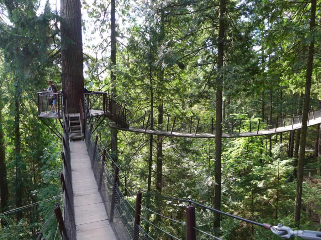 Tips for two days in Vancouver...including a visit to the awesome Capilano Suspension Bridge Park