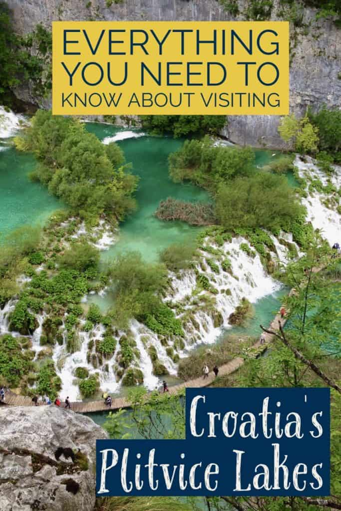 Itinerary tips for visiting Plitvice Lakes, Croatia | One Girl, Whole World