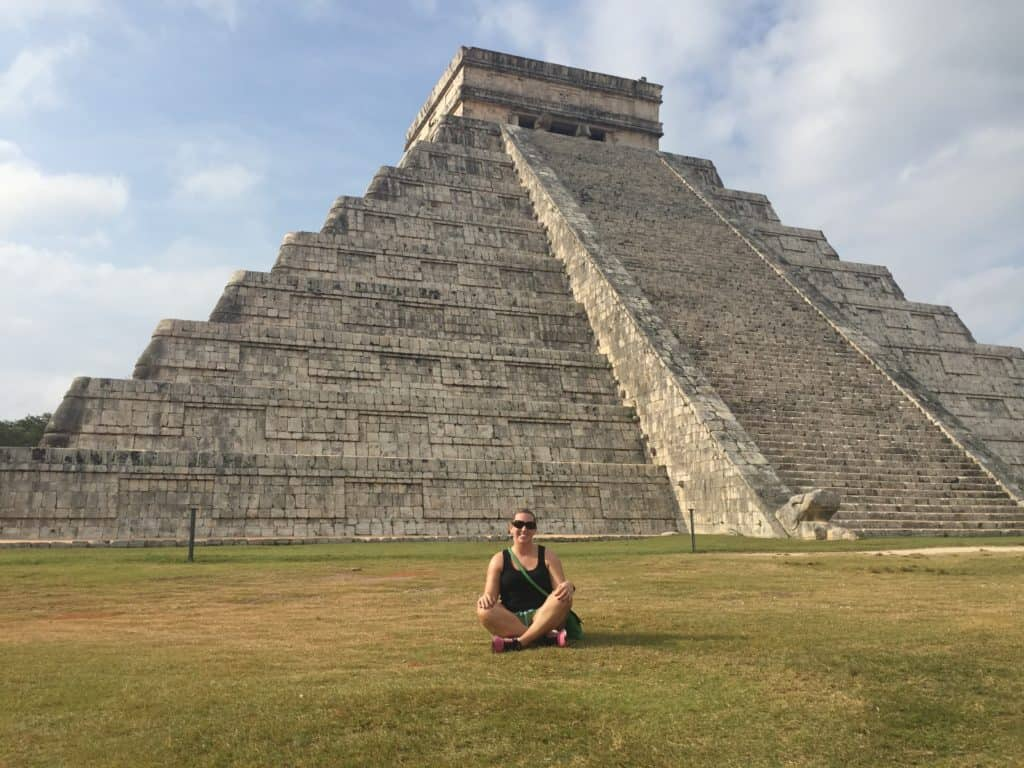 Chichen Itza, one of the modern wonders of the world