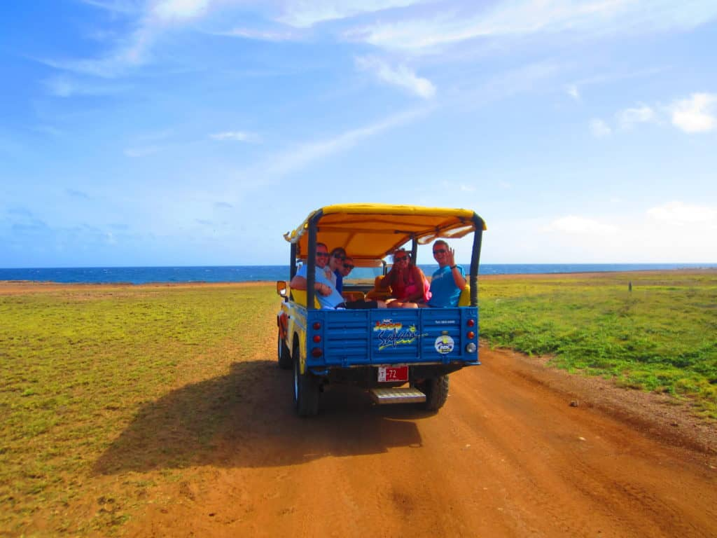 Aruban safari tours take you all over the island, a perfect day trip...jeep tours in Aruba