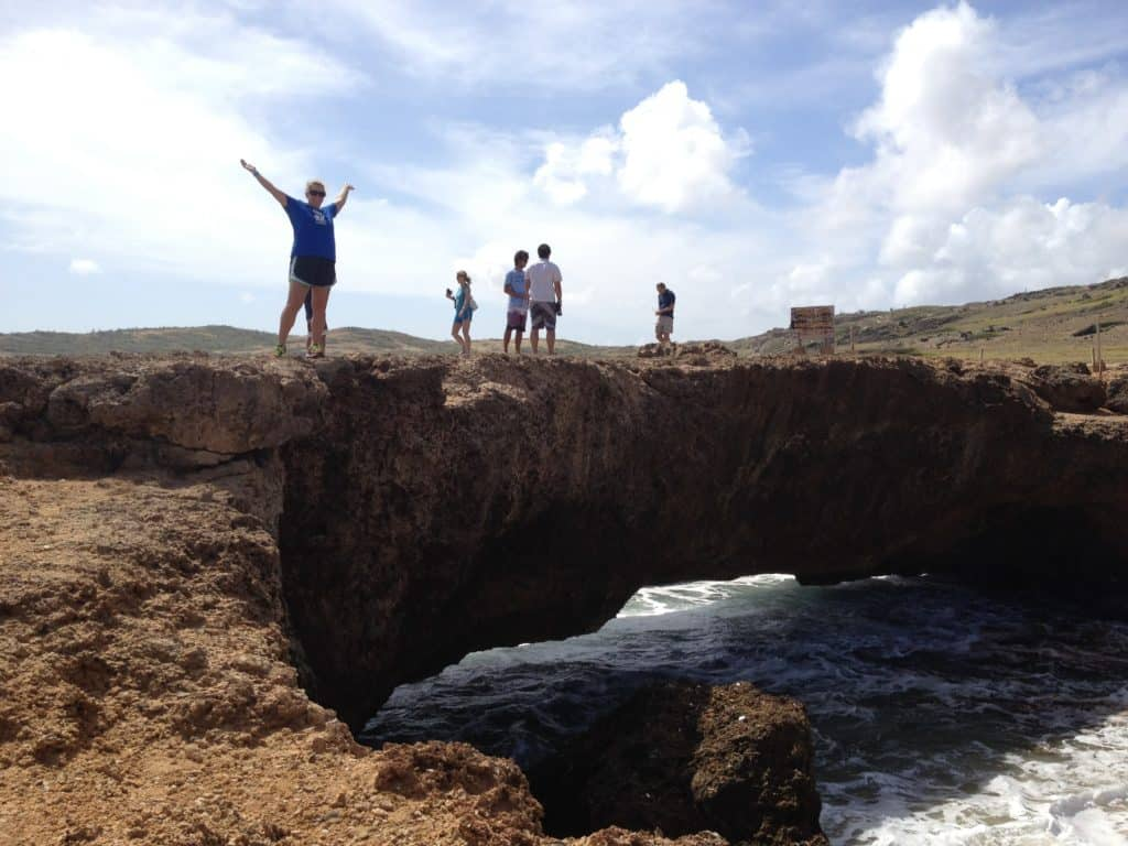 Visit Baby Bridge & see the ruins of Natural Bridge on an Aruban safari