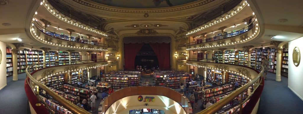 El Ateneo is a gorgeous bookstore, a must-stop for any book nerd when in Buenos Aires