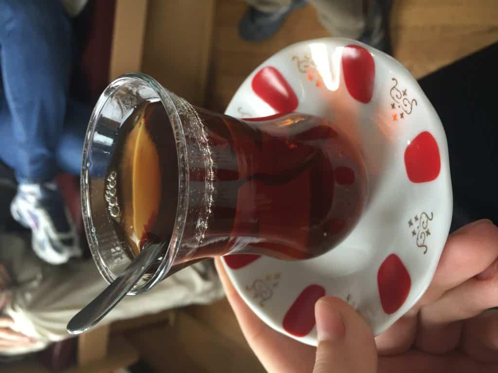 Black tea is omnipresent in Turkey