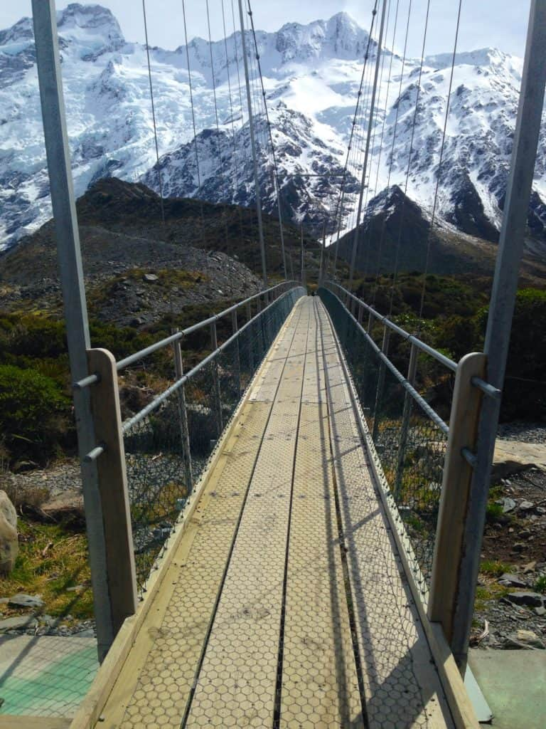 The Hooker Valley track is a must-do in New Zealand's South Island, suitable for most fitness levels